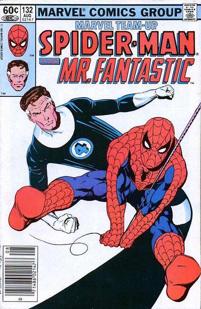 Cover for Marvel Team-Up (Marvel, 1972 series) #132