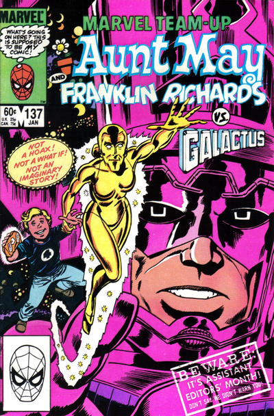 Cover for Marvel Team-Up (Marvel, 1972 series) #137