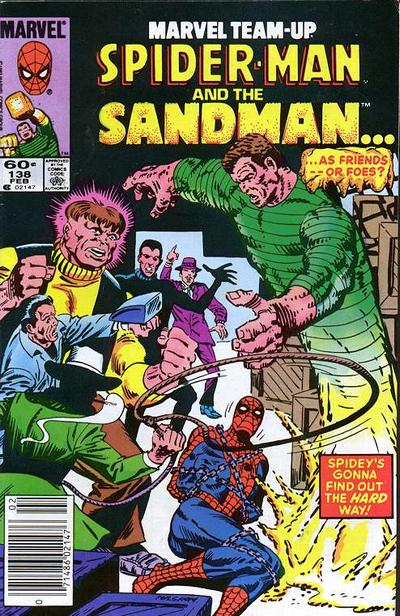 Cover for Marvel Team-Up (Marvel, 1972 series) #138 [Newsstand Edition]