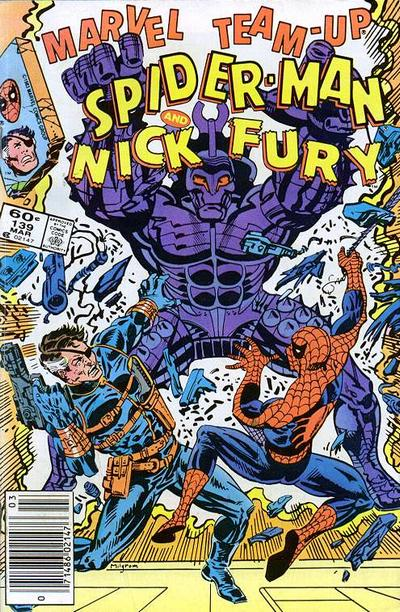 Cover for Marvel Team-Up (Marvel, 1972 series) #139 [Newsstand]