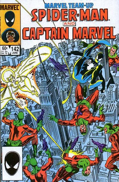 Cover for Marvel Team-Up (Marvel, 1972 series) #142 [Direct Edition]