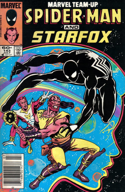 Cover for Marvel Team-Up (Marvel, 1972 series) #143 [Newsstand Edition]