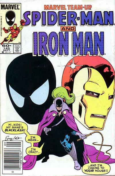 Cover for Marvel Team-Up (Marvel, 1972 series) #145 [Direct]