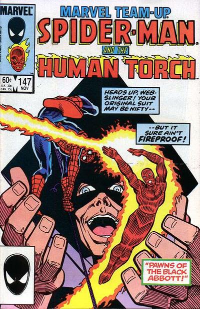 Cover for Marvel Team-Up (Marvel, 1972 series) #147 [Direct Edition]