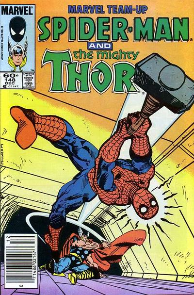 Cover for Marvel Team-Up (Marvel, 1972 series) #148 [Direct Edition]