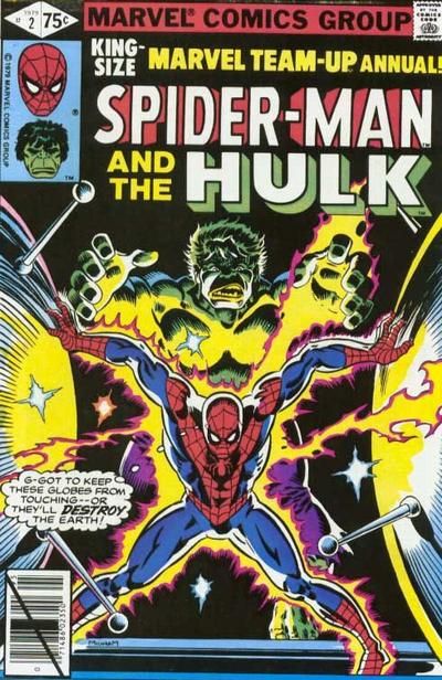 Cover for Marvel Team-Up Annual (Marvel, 1976 series) #2 [Direct]