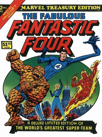 Cover for Marvel Treasury Edition (Marvel, 1974 series) #2