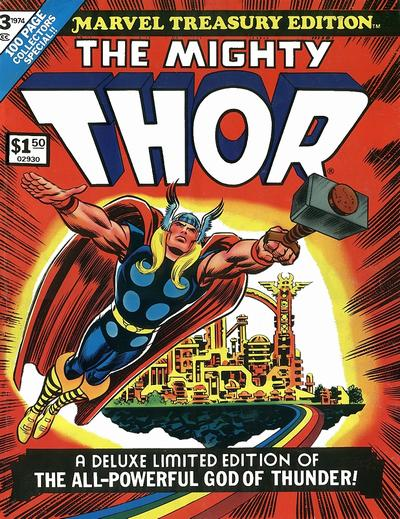 Cover for Marvel Treasury Edition (Marvel, 1974 series) #3 [Regular Edition]