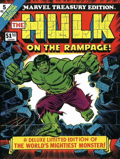 Cover for Marvel Treasury Edition (Marvel, 1974 series) #5