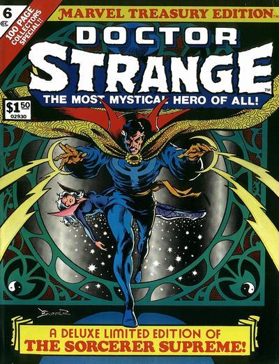 Cover for Marvel Treasury Edition (Marvel, 1974 series) #6 [Regular Edition]