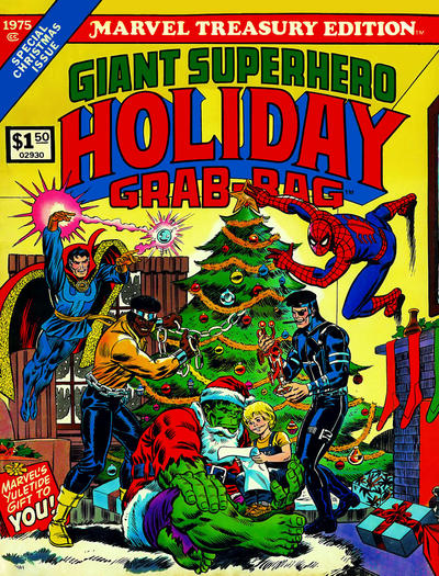 Cover for Marvel Treasury Edition (Marvel, 1974 series) #8