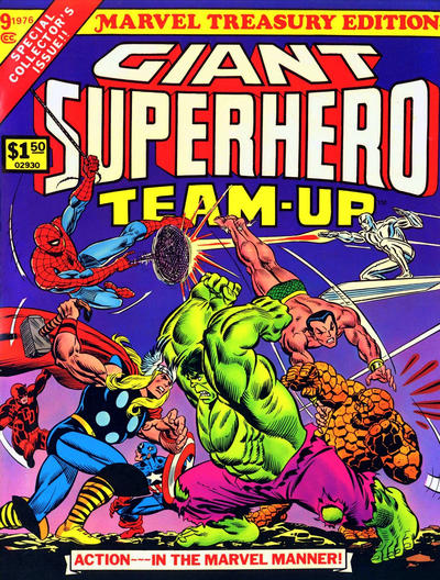 Cover for Marvel Treasury Edition (Marvel, 1974 series) #9