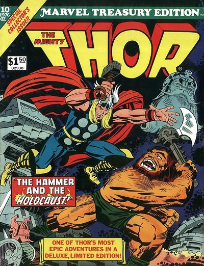 Cover for Marvel Treasury Edition (Marvel, 1974 series) #10 [Regular Edition]