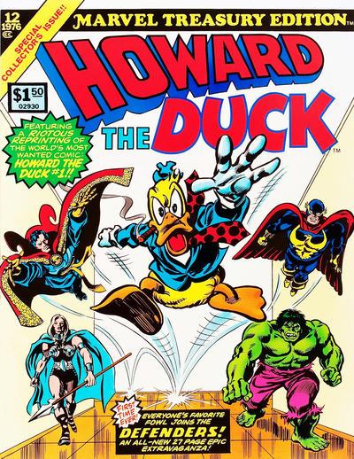 Cover for Marvel Treasury Edition (Marvel, 1974 series) #12 [Regular]
