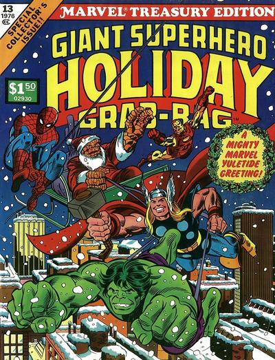 Cover for Marvel Treasury Edition (Marvel, 1974 series) #13