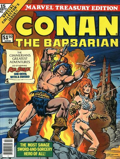 Cover for Marvel Treasury Edition (Marvel, 1974 series) #15