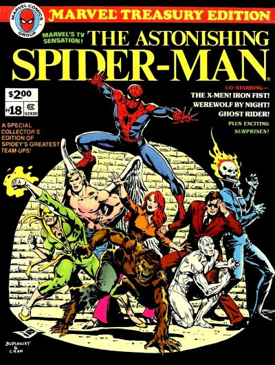 Cover for Marvel Treasury Edition (Marvel, 1974 series) #18