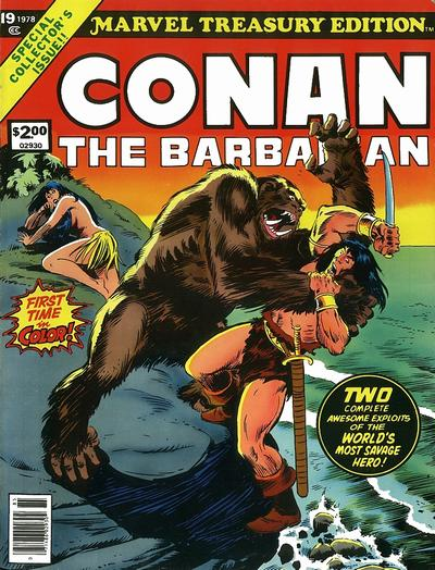 Cover for Marvel Treasury Edition (Marvel, 1974 series) #19