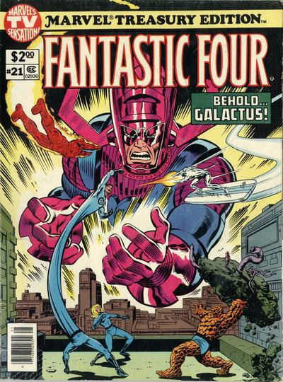 Cover for Marvel Treasury Edition (Marvel, 1974 series) #21