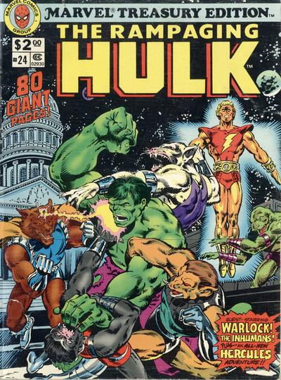 Cover for Marvel Treasury Edition (Marvel, 1974 series) #24