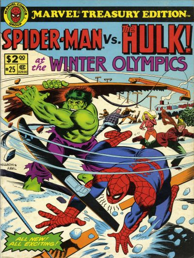 Cover for Marvel Treasury Edition (Marvel, 1974 series) #25