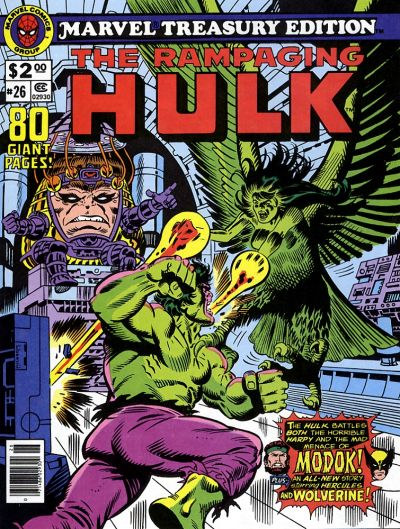 Cover for Marvel Treasury Edition (Marvel, 1974 series) #26