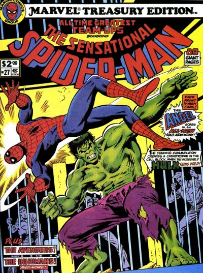 Cover for Marvel Treasury Edition (Marvel, 1974 series) #27