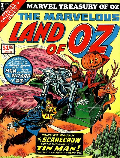Cover for Marvel Treasury of Oz (Marvel, 1975 series) #1