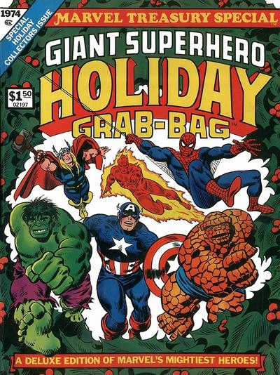 Cover for Marvel Treasury Special, Giant Superhero Holiday Grab-Bag (Marvel, 1974 series) #[nn]