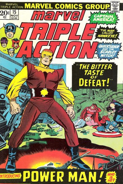 Cover for Marvel Triple Action (Marvel, 1972 series) #15
