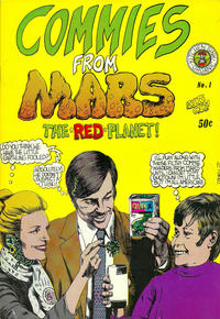Cover Thumbnail for Commies from Mars (Kitchen Sink Press, 1973 series) #1