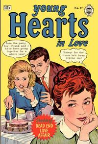 Cover Thumbnail for Young Hearts in Love (I. W. Publishing; Super Comics, 1963 series) #17