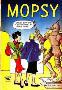 Cover Thumbnail for Mopsy (St. John, 1948 series) #15