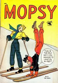 Cover Thumbnail for Mopsy (St. John, 1948 series) #16