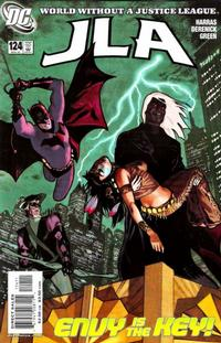 Cover Thumbnail for JLA (DC, 1997 series) #124