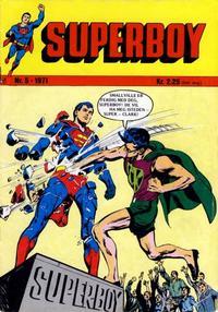 Cover Thumbnail for Superboy (Illustrerte Klassikere / Williams Forlag, 1969 series) #5/1971