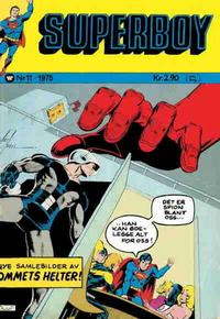 Cover Thumbnail for Superboy (Illustrerte Klassikere / Williams Forlag, 1969 series) #11/1975