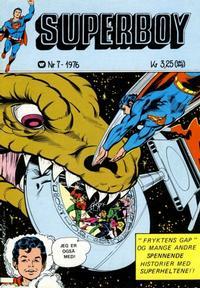 Cover Thumbnail for Superboy (Illustrerte Klassikere / Williams Forlag, 1969 series) #7/1976