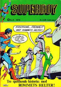 Cover Thumbnail for Superboy (Illustrerte Klassikere / Williams Forlag, 1969 series) #8/1976