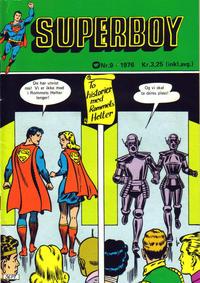 Cover Thumbnail for Superboy (Illustrerte Klassikere / Williams Forlag, 1969 series) #9/1976