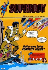 Cover Thumbnail for Superboy (Illustrerte Klassikere / Williams Forlag, 1969 series) #12/1976