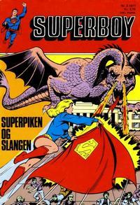 Cover Thumbnail for Superboy (Illustrerte Klassikere / Williams Forlag, 1969 series) #3/1977