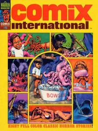Cover Thumbnail for Comix International (Warren, 1974 series) #5