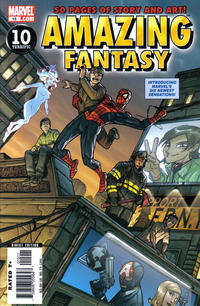 Cover Thumbnail for Amazing Fantasy (Marvel, 2004 series) #15