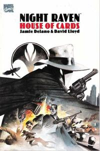 Cover Thumbnail for Night Raven: House of Cards (Marvel UK, 1992 series) #[nn]