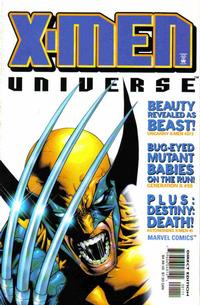 Cover Thumbnail for X-Men Universe (Marvel, 1999 series) #1