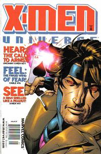 Cover for X-Men Universe (Marvel, 1999 series) #6 [Direct Edition]