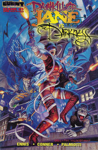"Cover Thumbnail for Painkiller Jane vs. The Darkness: ""Stripper"" (Event Comics, 1997 series) #1 [Hildebrandt Cover]"