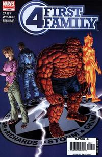 Cover Thumbnail for Fantastic Four: First Family (Marvel, 2006 series) #4