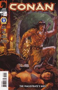 Cover Thumbnail for Conan (Dark Horse, 2004 series) #24 [Direct Sales]